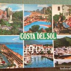 Postales: POSTAL COSTA DEL SOL FUENGIROLA MALAGA TIPISMO ANDALUZ TORREMOLINOS MARBELLA PUERTO BANUS MIJAS. Lote 112978863