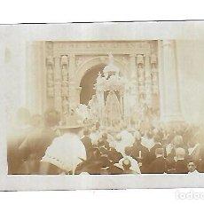 Postales: TARJETA POSTAL FOTOGRAFICA. CORONACION VIRGEN DE LOS MILAGROS. 1916. PUERTO SANTA MARIA. Lote 113236551