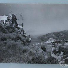 Postales: ANTIGUA TARJETA POSTAL FOTO SALOBREÑA (GRANADA) VISTA DESDE EL CASTILLO ARABE – AÑOS 60 – CIRCULADA . Lote 113375367