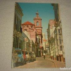 Postales: PUERTO REAL , CADIZ . CALLE VAQUERO. Lote 113419975
