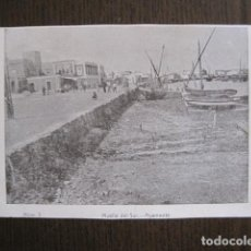 Postales: AYAMONTE-MUELLE SUR -POSTAL ANTIGUA-REVERSO SIN DIVIDIR-FRANCISCO HERNANDEZ-VER FOTOS - (52.116). Lote 113516143
