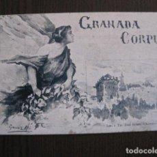 Postales: GRANADA CORPUS 1906 -POSTAL ANTIGUA -VER FOTOS - (52.119). Lote 113517311