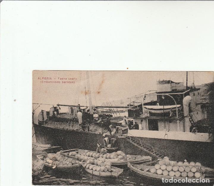 ALMERIA-FAENA UVERA-EMBARCANDO BARRILES-COLECC.LACOSTE Nº 18 A (Postales - España - Andalucía Antigua (hasta 1939))
