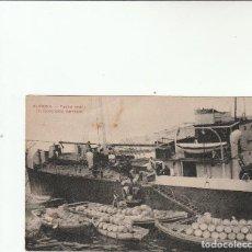 Postales: ALMERIA-FAENA UVERA-EMBARCANDO BARRILES-COLECC.LACOSTE Nº 18 A. Lote 113583927