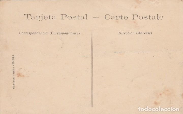 Postales: ALMERIA-FAENA UVERA-EMBARCANDO BARRILES-COLECC.LACOSTE Nº 18 A - Foto 2 - 113583927