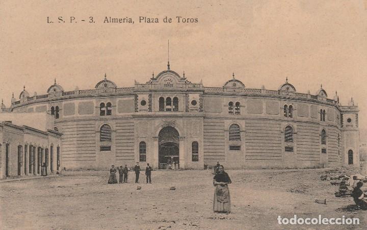 ALMERIA-PLAZA DE TOROS-L.S.P.3 (Postales - España - Andalucía Antigua (hasta 1939))