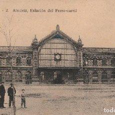 Postales: ALMERIA- ESTACION DE FERRO CARRIL- L.S.P-2. Lote 113584071