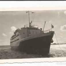 Cartes Postales: ALGECIRAS - VAPOR VIRGEN DE ÁFRICA - NUM. 334 ARRIBAS. Lote 113885407
