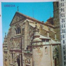 Postales: FOTO POSTAL UBEDA IGLESIA DE SALVADOR EDIC.ARRIBAS 2011 AÑOS 70-80.FOTOS. Lote 114284786