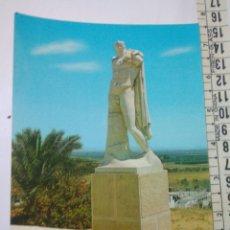 Postales: FOTO POSTAL SEVILLA ITALICA AÑOS 80 ESTATUA TRAJANO EDIC.RODRIGUEZ 2. Lote 114290474