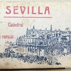 Postales: ANTIGUO LIBRILLO. POSTALES CATEDRAL DE SEVILLA. 20 POSTALES. COLECCION MANUEL BARREIRO.. Lote 114313151
