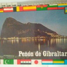 Postales: ANTIGUA POSTAL PEÑON GIBRALTAR LINEA CADIZ AÑOS70-80 ORO N.52. Lote 114353731