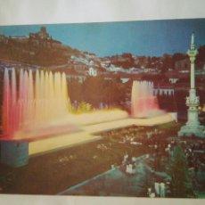 Postales: FOTO POSTAL GRANADA FUENTE TRIUNFO AÑOS 70-80 BEASC.1237 GENTE MIRANDO. Lote 114357747