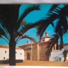 Postales: ANTIGUA POSTAL AÑOS 70 HUELVA LA RABIDA VISTA MONASTERIO ESCRITA Y SELLO ECUD.ORO 1446. Lote 114358919
