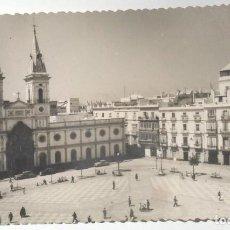 Postales: CADIZ - PLAZA JOSE ANTONIO PRIMO DE RIVERA. Lote 114431915