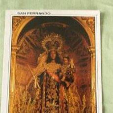 Postales: VIRGEN DEL CARMEN CORONADA PATRONA SAN FERNANDO - CADIZ. Lote 114615531