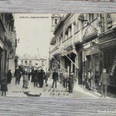 Cartes Postales: ANTIGUA POSTAL DE HUELVA - CALLE CONCEPCIÓN - 1911 - PAPELERIA MORA Y CIA - CIRCULADA - EN PERFECTO . Lote 114739235