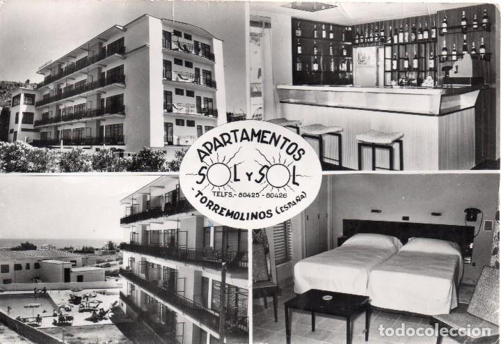 TORREMOLINOS APARTAMENTOS SOL Y SOL (Postales - España - Andalucia Moderna (desde 1.940))
