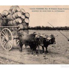 Postales: ACARREO DE UVAS PARA EL EXTRANJERO.COLECCION GRANADINA Nº28 FRANCISCO ROMAN. HAUSER Y MENET. Lote 115030435