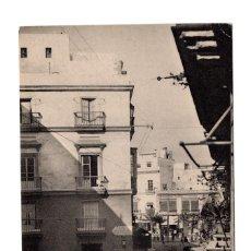 Postales: CÁDIZ - CALLE DE PLOCIA.- FOTOTIPIA DE HAUSER & MENET - MADRID. Lote 115112023