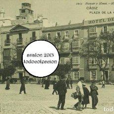 Postales: POSTAL CADIZ - PLAZA DE LA CONSTITUCION - HAUSER Y MENET Nº 1219 - EXCELENTE ESTADO. Lote 115461663