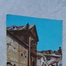 Postales: POSTAL ANTEQUERA MÁLAGA PLAZA DE LAS DESCALZAS 1972. Lote 115496884