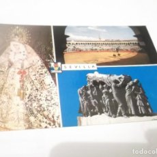 Postales: POSTAL SEVILLA VIRGEN MACARENA Y TUMBA JOSELITO. Lote 115623599