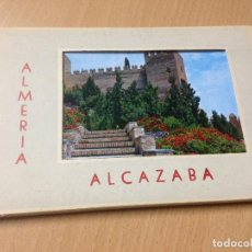 Postales: ANTIGUAS POSTALES BLOC ALMERIA IMAGENES ALCAZABA GARCÍA GARRABELLA. Lote 116111551