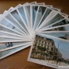 Postales: LOTE 19 POSTALES ANTIGUAS DE MÁLAGA - ED. ARRIBAS, ZARAGOZA - SIN CIRCULAR. Lote 116320071