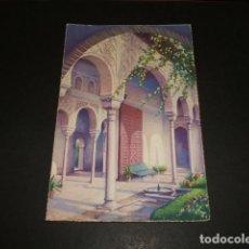 Postales: GRANADA ALHAMBRA GENERALIFE. Lote 116538227