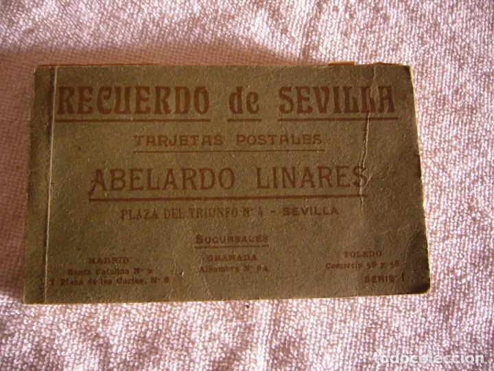 RECUERDO DE SEVILLA , ABELARDO LINARES .20 POSTALES SERIE I (Postales - España - Andalucía Antigua (hasta 1939))