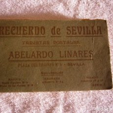Postales: RECUERDO DE SEVILLA , ABELARDO LINARES .20 POSTALES SERIE I. Lote 116797731