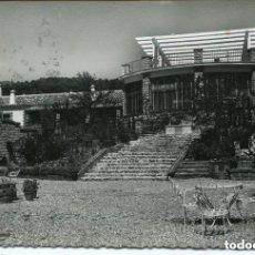 Postales: TORREMOLINOS- HOTEL EL PINAR-1955--FOTOGRÁFICA-TERRAZA- RARA. Lote 116981859