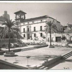 Postales: ANTEQUERA - PALACIO DE NAJERA Y MONUMENTO A LOS CAÍDOS - Nº 16. Lote 117095419