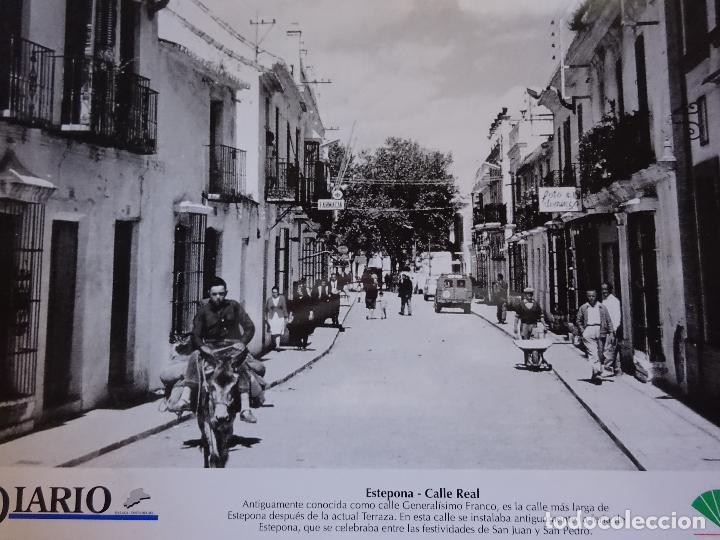 Antigua Lámina Fotografía De Estepona Málaga Sold