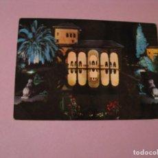 Postales: POSTAL DE GRANADA. ALHAMBRA. JARDINES DEL PORTAL. CIRCULADA AÑOS 60.. Lote 117579623