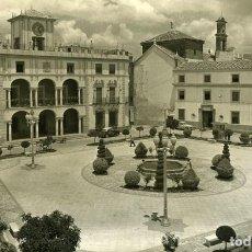 Postales: PRIEGO DE CORDOBA. PLAZA DE CALVO SOTELO. EDICIONES ARRIBAS Nº 4. FOTOGRÁFICA.. Lote 117661299