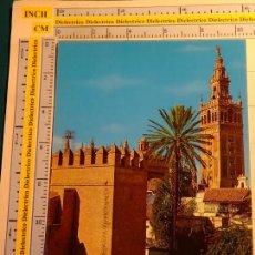 Postales: POSTAL DE SEVILLA. AÑO 1973. REALES ALCÁZARES, GIRALDA. 1620. Lote 117872199