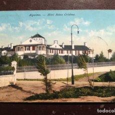 Postales: ALGECIRAS. HOTEL REINA CRISTINA. Lote 117943214