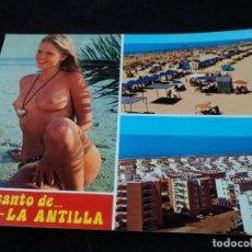 Postales: LEPE PLAYA LA ANTILLA CIRCULADA . Lote 117969543