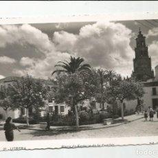 Postales: UTRERA - PLAZA DE ENRIQUE DE LA CUADRA - Nº 21 ED. EL BARATO. Lote 118389927