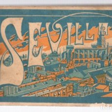 Postales: BLOC POSTAL SEVILLA. L. ROISIN. BARCELONA. CIRCA 1925. 13 TARJETAS POSTALES. INCOMPLETO. Lote 118518820