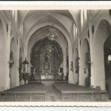 Postales: ARCHIDONA - INTERIOR DE LA PARROQUIA DE SANTA ANA. ALTAR MAYOR - Nº 9 ED. ORTIZ. Lote 118660391