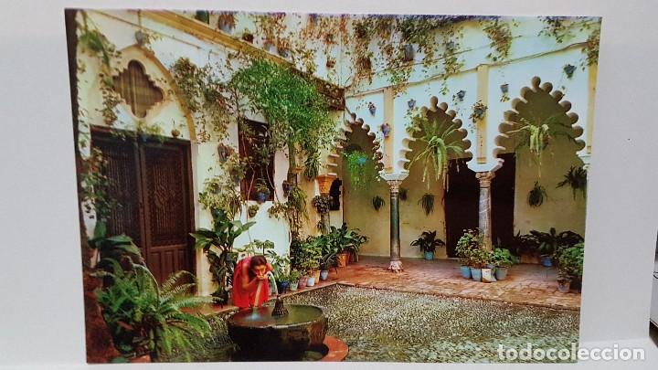 Antigua Postal Patio Andaluz Buy Postcards From Andalusia At