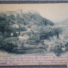 Postales: POSTAL GRANADA ALHAMBRA VISTA GENERAL 1903. Lote 118759799