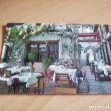 Postales: GRANADA -- RESTAURANTE ALCAICERIA. Lote 118823099