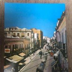 Postales: ANTIGUA POSTAL SANLUCAR BARRAMEDA CALLE JOSÉ ANTONIO PRIMO RIVERA NUM 3 ED LIBRERÍA LUENGO . Lote 119270871
