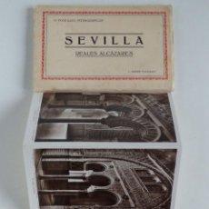 Postales: REALES ALCAZARES SEVILLA – 10 POSTALES FOTOGRÁFICAS – L.ROISIN. Lote 119714215