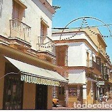 Postales: POSTAL DE PUERTO REAL (CÁDIZ), CALLE DE LA PLAZA. Lote 120344627