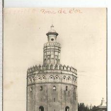 Postales: SEVILLA TORRE DEL ORO ESCRITA. Lote 120667279
